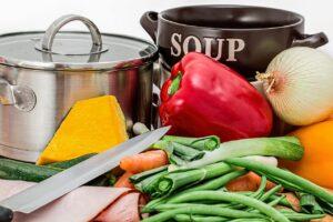Gesunde Ernährung - Obst - Gemüse - Fisch - Naturtreu - Kraftreserve