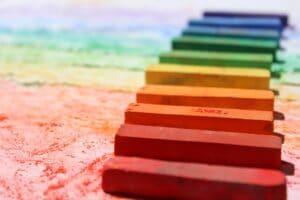 Regenbogenfarben - Farbtherapie