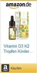 Vitamin D3 Vitamin K2 perfekt für Kinder - Sonnenkind