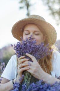 Lavendel der wohltuende Duft