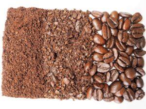 Kaffeebohnen gemahlen - Fein - Mittel - Grob